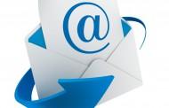 اعلان عن البريد الالكترونى للطلاب